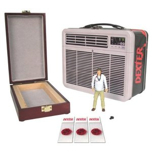 Dexter Gift Set Action Figure in Lunch Box with Blood Slide Box