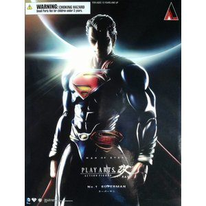 Man of Steel: Superman Play Arts KAI figure