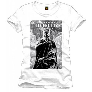 Batman T-Shirt Detective white