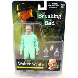 Breaking Bad Action Figure Walter White in Blue Hazmat Suit Previews Exclusive