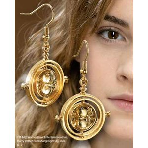 HP Replica 1/1 Hermione Granger´s The Time Turner Earrings (gold plated)
