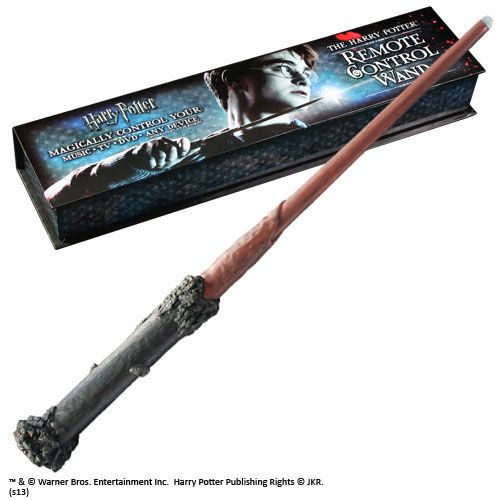 HP  Harry Potter Remote Control Wand 36 cm  The Movie Store ~ Tv Wand Control