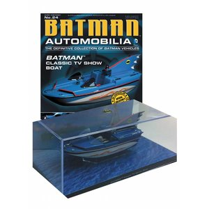 Batman Automobilia Collection #024 Batboat (Classic TV Show)