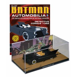 Batman Automobilia Magazine with 1/43 Diecast Model #29 Batmobile (Detective Comics #362)
