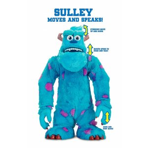 Monsters University Plush Figure with Sound Scare Off Sulley 38 cm