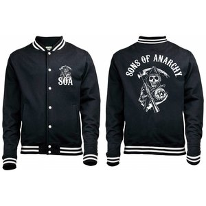 Sons of Anarchy Baseball Varsity Jacket Classic
