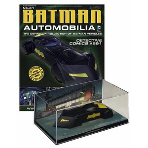 Batman Automobilia Magazine with 1/43 Diecast Model #31 Batmobile (Detective Comics #591)