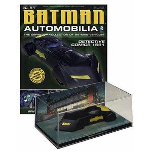 Batman Automobilia Magazine with 1/43 Diecast Model #31 Batmobile (Detective Comics #591)