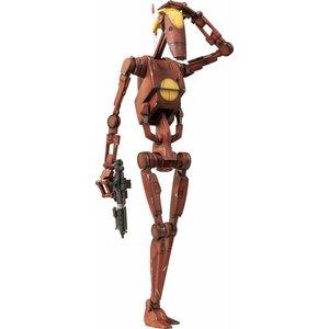 Star Wars Action Figure 1/6 Geonosis Commander Battle Droid & Count Dooku Hologram