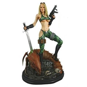 Heavy Metal Statue 1/4 Alien Marine Girl