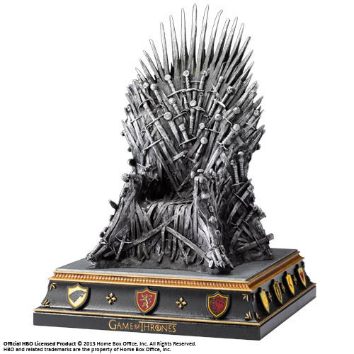 Game Of Thrones Iron Throne Bookend The Movie Store
