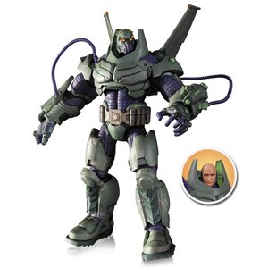 DC Comics Super Villains Deluxe Action Figure Armored Lex Luthor (The New 52)