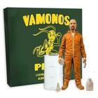 Breaking Bad Deluxe Action Figure Walter White in Orange Hazmat Suit Exclusive