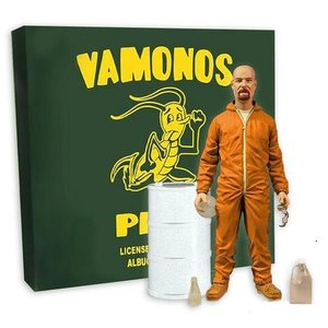 Breaking Bad Deluxe Action Figure Walter White in Orange Hazmat Suit Exclusive
