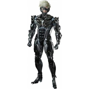 Metal Gear Rising Revengeance Videogame Masterpiece Action Figure 1/6 Raiden