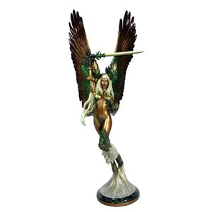 The Darkness Faux Bronze Statue 1/6 The Angelus