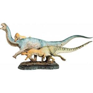 Sideshow´s Dinosauria Statue Allosaurus vs. Camarasaurus