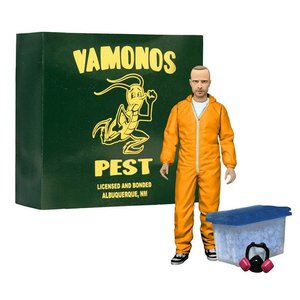 Breaking Bad Deluxe AF Jesse Pinkman in Orange Hazmat Suit heo Exclusive