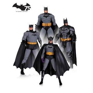 Batman Action Figure 4-Pack 75th Anniversary Set 1