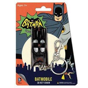 Batman Classic 1966 TV Bendable Figure Keychain - Batmobile