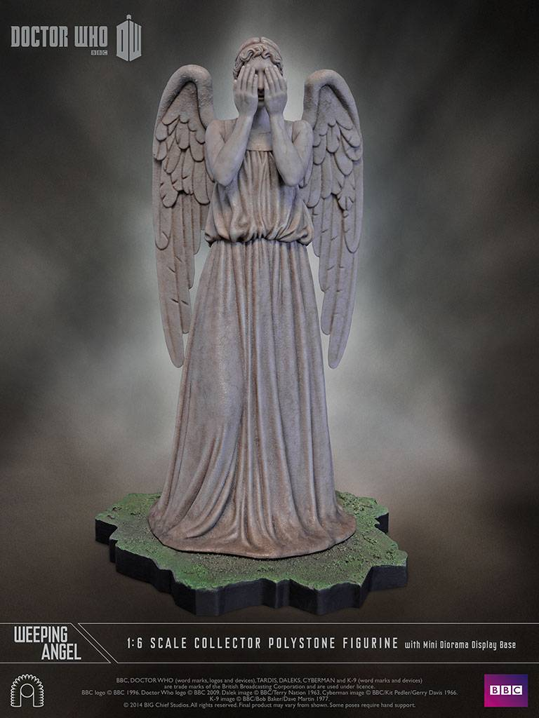 Doctor Who Statue 1/6 Weeping Angel - The Movie Store