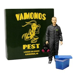 Breaking Bad Action Figure Vamonos Pest Jesse Pinkman NYCC Exclusive