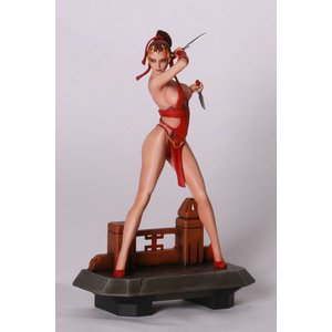 Fantasy Figure Gallery: Red Assassin (Wei Ho) 1:6 Scale Resin Statue
