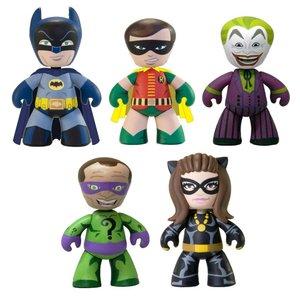 DC Universe Mez-Itz Batman 1966 Action Figure Set