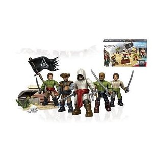 Assassin´s Creed Mega Bloks Construction Set Pirate Crew