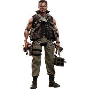 Commando Movie Masterpiece Action Figure 1/6 John Matrix
