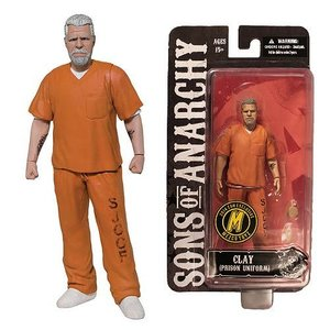 Sons of Anarchy Action Figure Orange Prison Variant Clay NYCC Exclusive