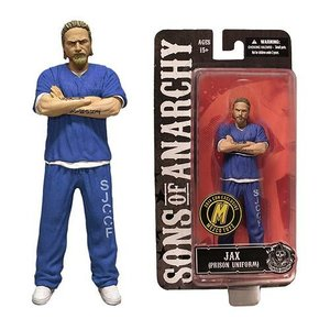 Sons of Anarchy Action Figure Blue Prison Variant Jax NYCC Exclusive