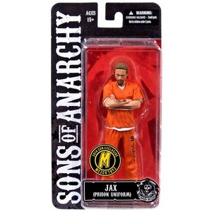 Sons of Anarchy Action Figure Orange Prison Jax SDCC 2014 Exclusive