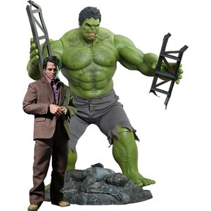 The Avengers Movie Masterpiece Action Figure 2-Pack 1/6 Bruce Banner & Hulk