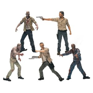 The Walking Dead TV series: Building Sets - 5 Figure Pack