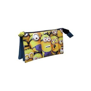 Despicable Me Pencil Case Triple