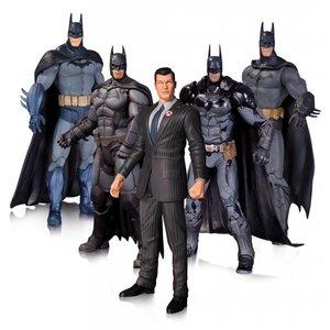 Batman Batman Arkham Action Figure 5-Pack 17 cm