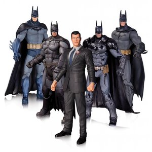 Batman Batman Arkham Action Figure 5er Pack 17 cm