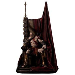 God of War Statue 1/4 Kratos on Throne