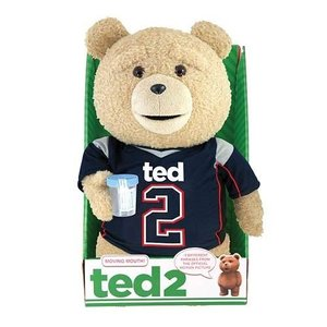 Ted 2 Animated Talking Plush Figure Jersey Explicit
