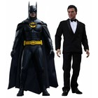 Batman Returns Movie Masterpiece Action Figure 2-Pack 1/6 Batman and Bruce Wayne