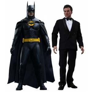 Batman Returns Movie Masterpiece Action Figure 2-Pack 1/6 Batman & Bruce Wayne