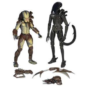 Alien vs. Predator Action Figur 2-Pack Renegade vs. Predator Big Chap Alien