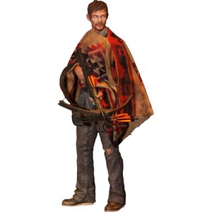 The Walking Dead Statue 1/4 Daryl Dixon