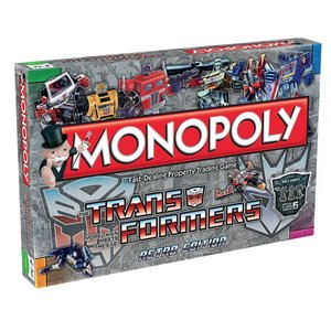 Monopoly Transformers Retro * English *