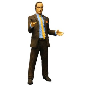 Breaking Bad Action Figure Saul Goodman Brown Suit Previews Exclusive