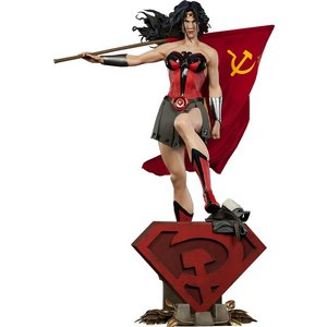 Premium Format Figure DC Comics Wonder Woman Red Son