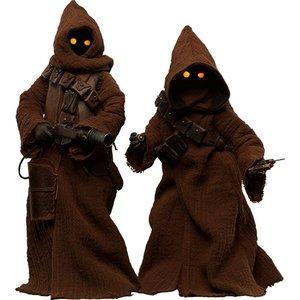 Star Wars Action-Figuren-Set 1/6 Jawa 23 cm