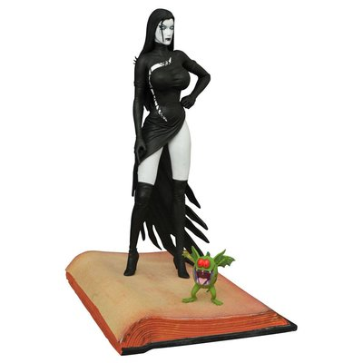 Tarot Witch of the Black Rose Femme Fatales PVC Statue Raven Hex