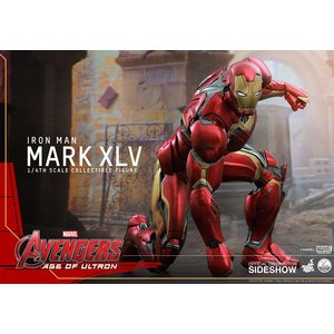 Avengers Alter von Ultron QS-Serie Action Figure 1/4 Iron Man Mark XLV 51 cm